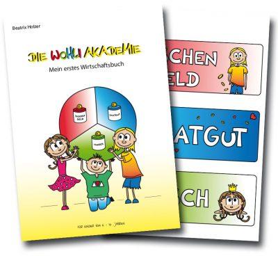 """Mein erstes Wirtschaftsbuch"""" (Haushaltsbuch) für Kinder"""
